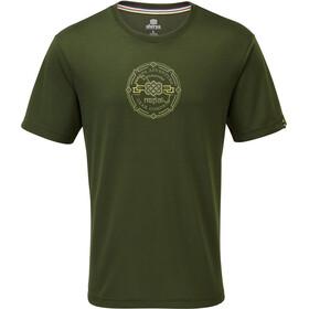 Sherpa Kimti T-shirt Herrer, mewa green